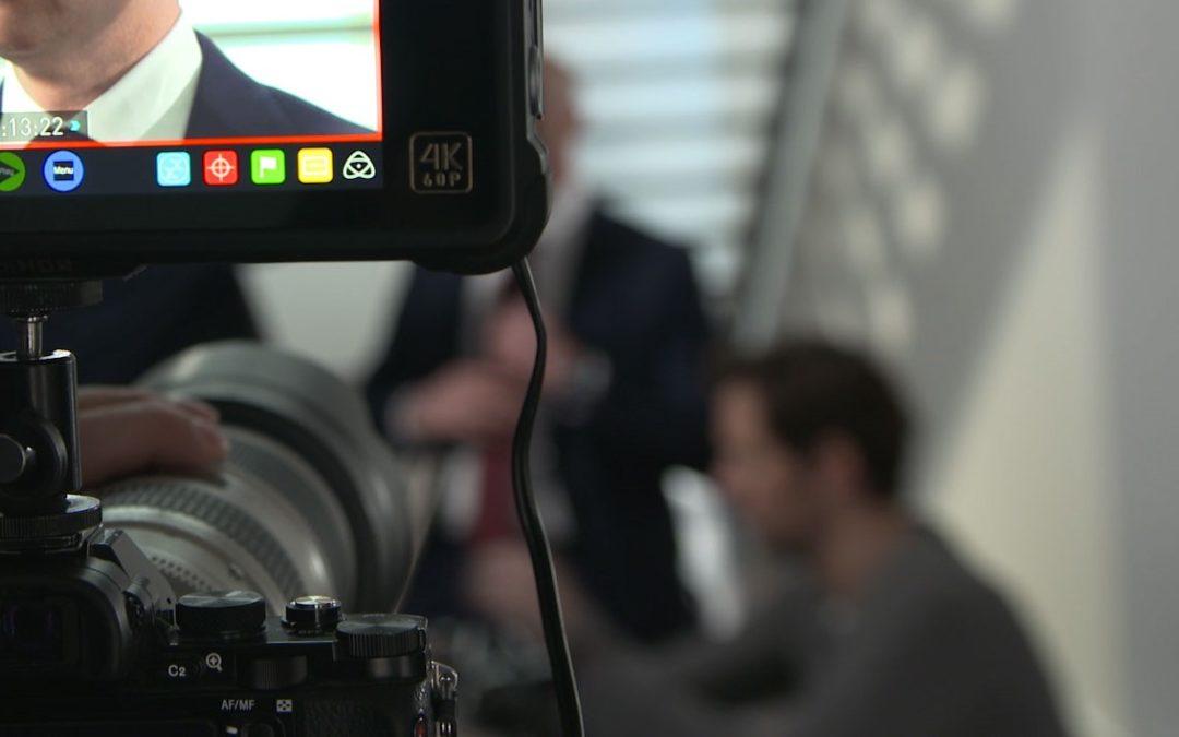 Interviewtechniken bei der Filmproduktion von Imagefilmen